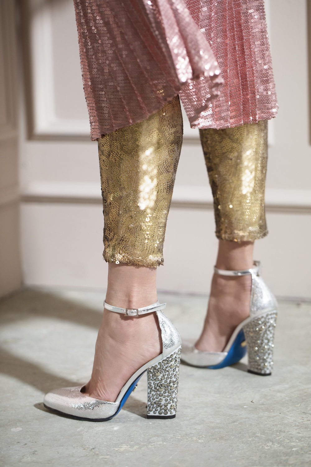 Cinderella shoes& Sequins! -