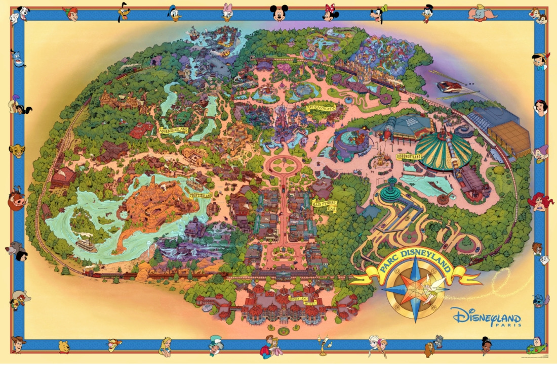 Fun Map Disneyland Park Classic Returns Dlrpfans