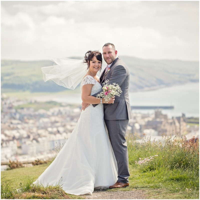 A Wedding On Top Of The World At Constitution Hill Aberystwyth