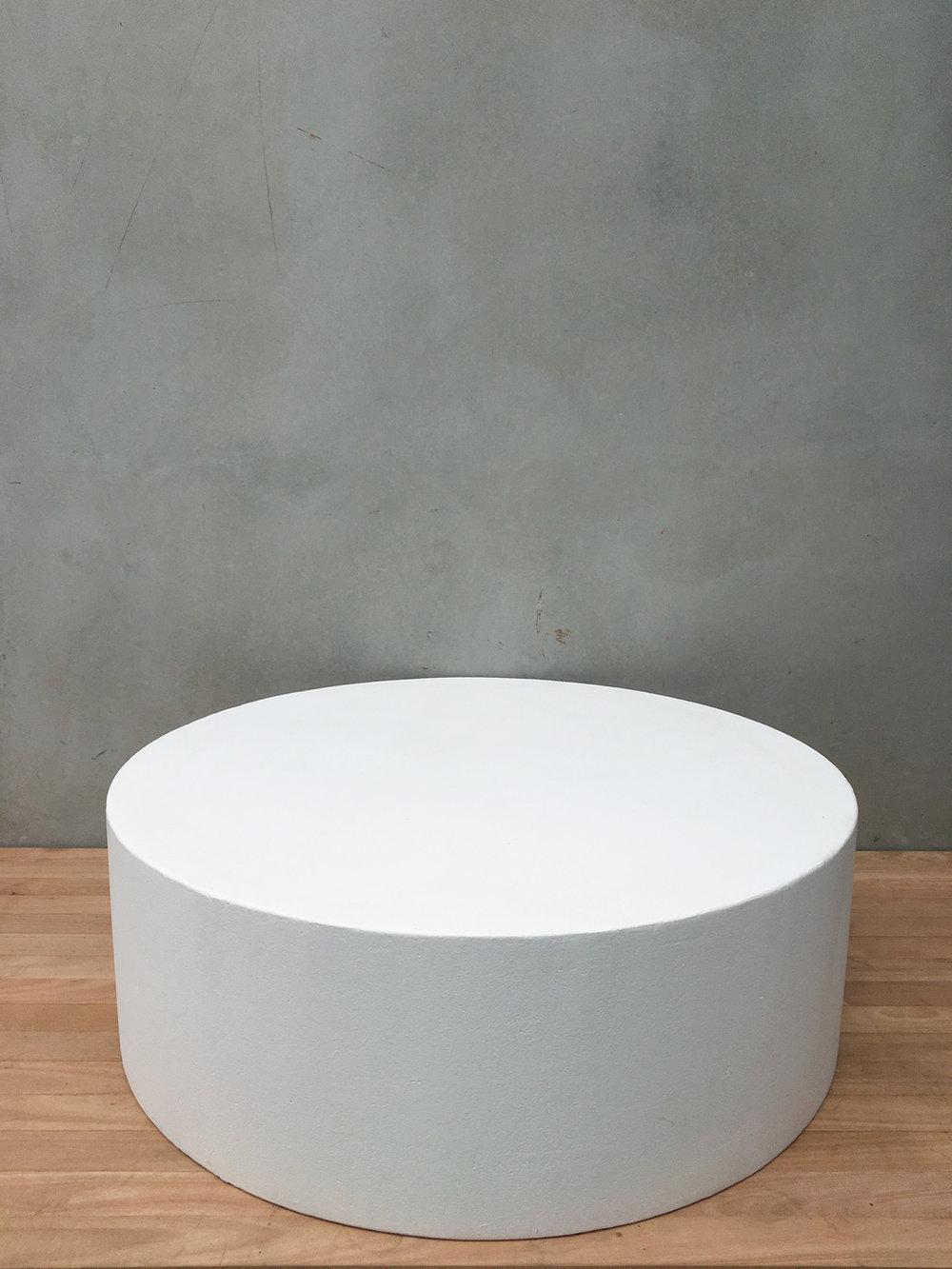1170 X 400 CYLINDRICAL PANCAKE WHITE