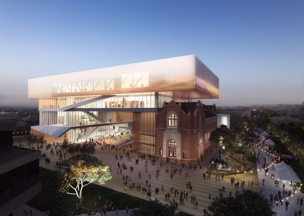 New Museum for WA concept rendering