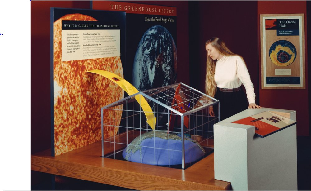 Understanding the Forecast: Global Warming. AMNH, 1992.