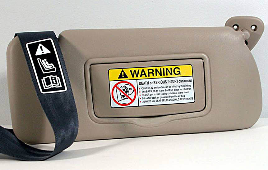 automotive safety labels branding