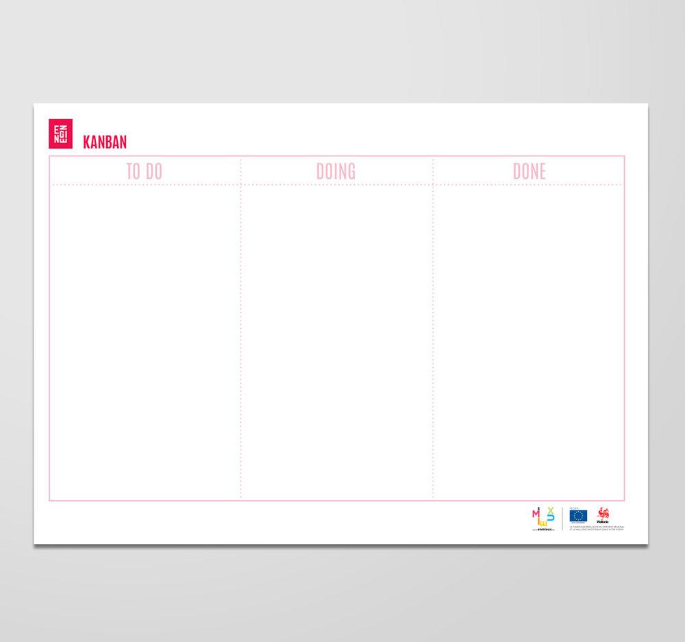 KANBAN   L'idée est assez simple : votre liste de choses à faire, une liste de choses sur lesquelles vous êtes en train de travailler et une liste des choses terminées. A vous d'arranger ces étapes de manière plus complexe dans votre processus si vous le souhaitez !