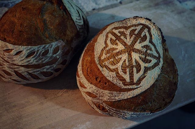 Gotta love local bread! And we can't think of a better place to find & share local food than at the Brighton Farmers Market- come see us there this Sunday! We'll be there with this lovely Levain as well as some other new & classic breads that we handcraft from freshly milled, local, organic grains.