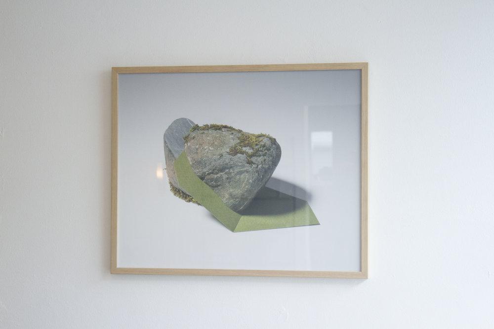 Framed photograph c-print 60x75cm