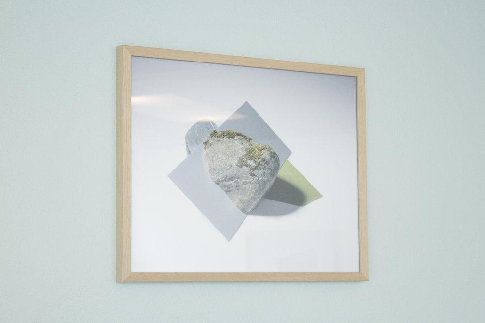 Framed photograph c-print 45x55cm