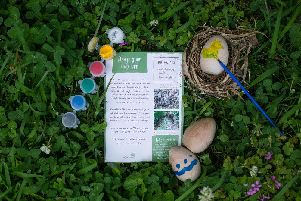 Design your own eggs kit from the Wonderkin NEST Box