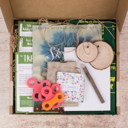 The Wonderkin Tree Box - Our monthly subscription boxes are designed to support early childhood development by getting kids outdoors and connected to nature.