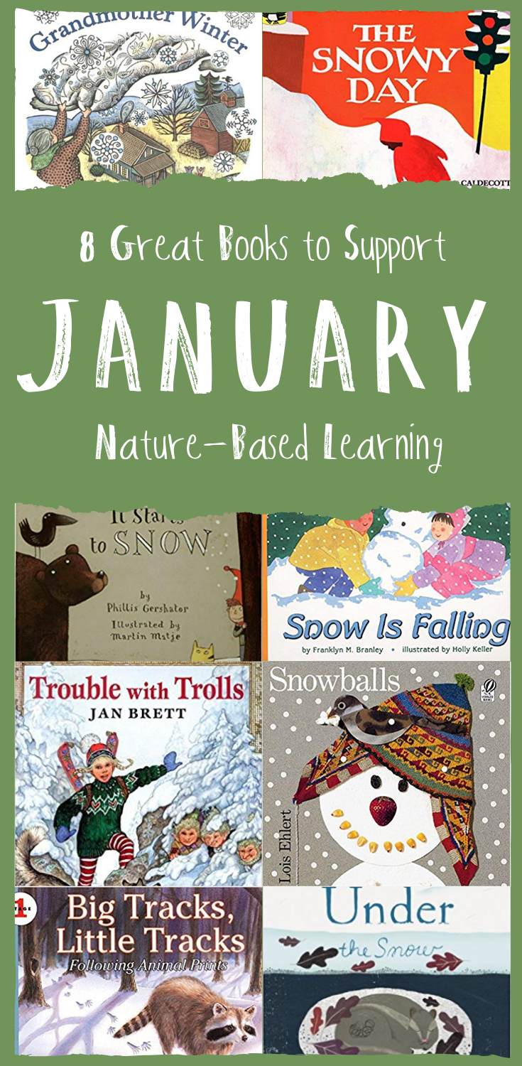 Wonderkin | Eight Great Books to Support Nature-Based Learning in January