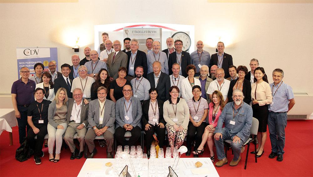 Citadelles du Vin 2017 - The Team Photo