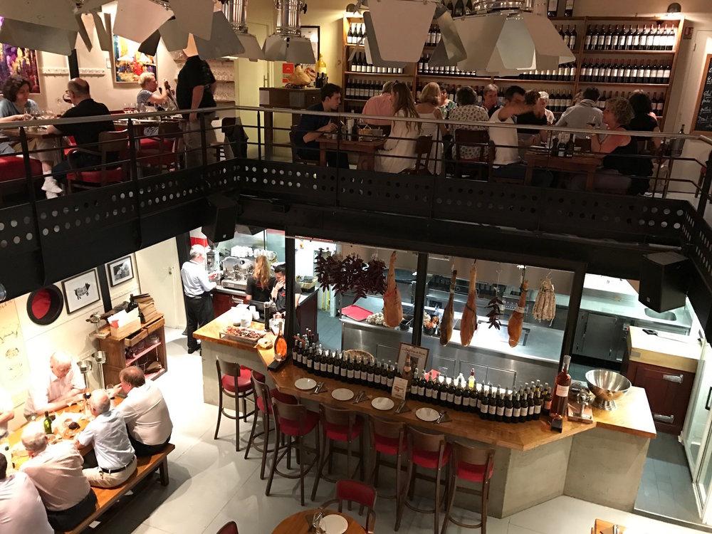 A fine dinner @ La Brasserie Bordelaise on Rue Saint-Rémi