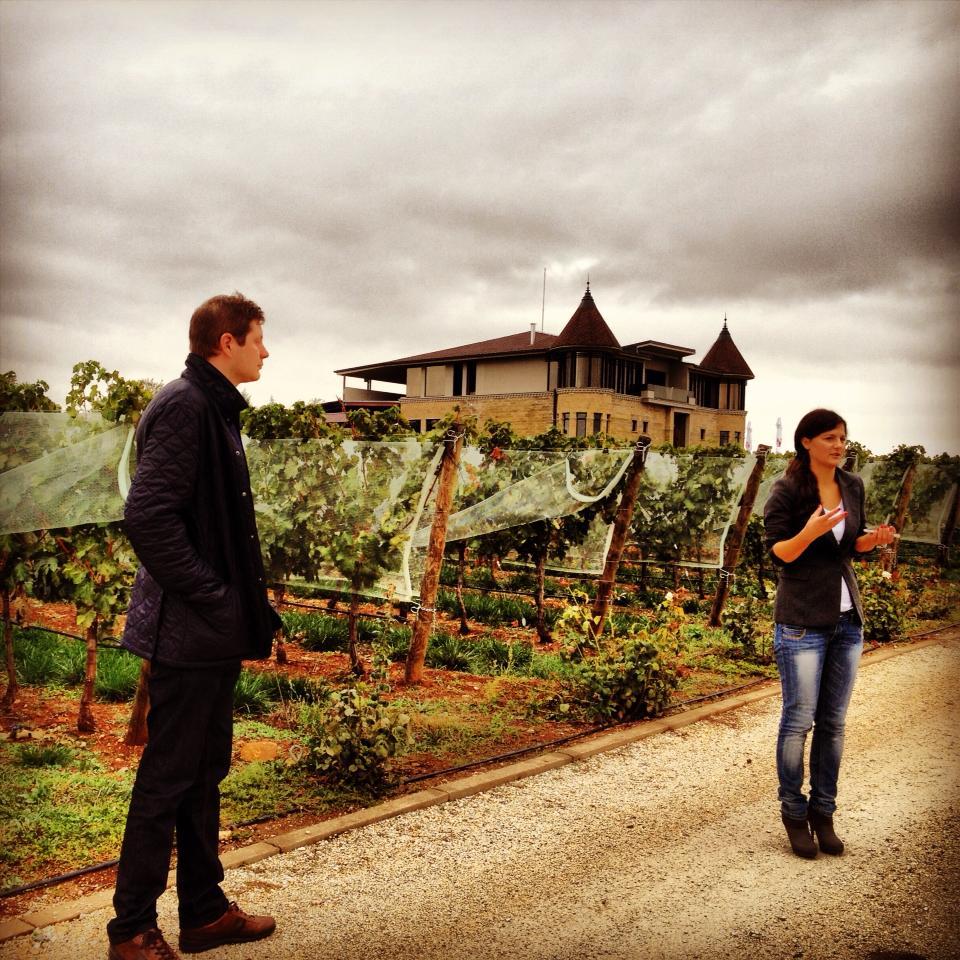 At Chateau Kamnik - 2013
