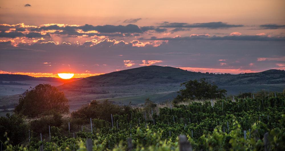 A Transylvanian sunset