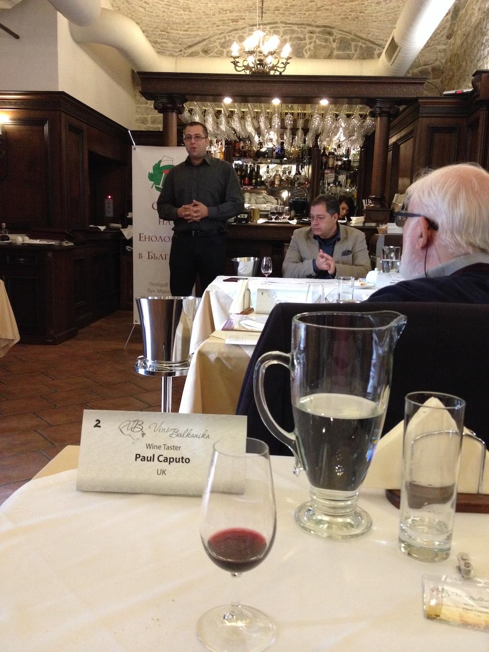 The intimate Vino Balkanika tasting