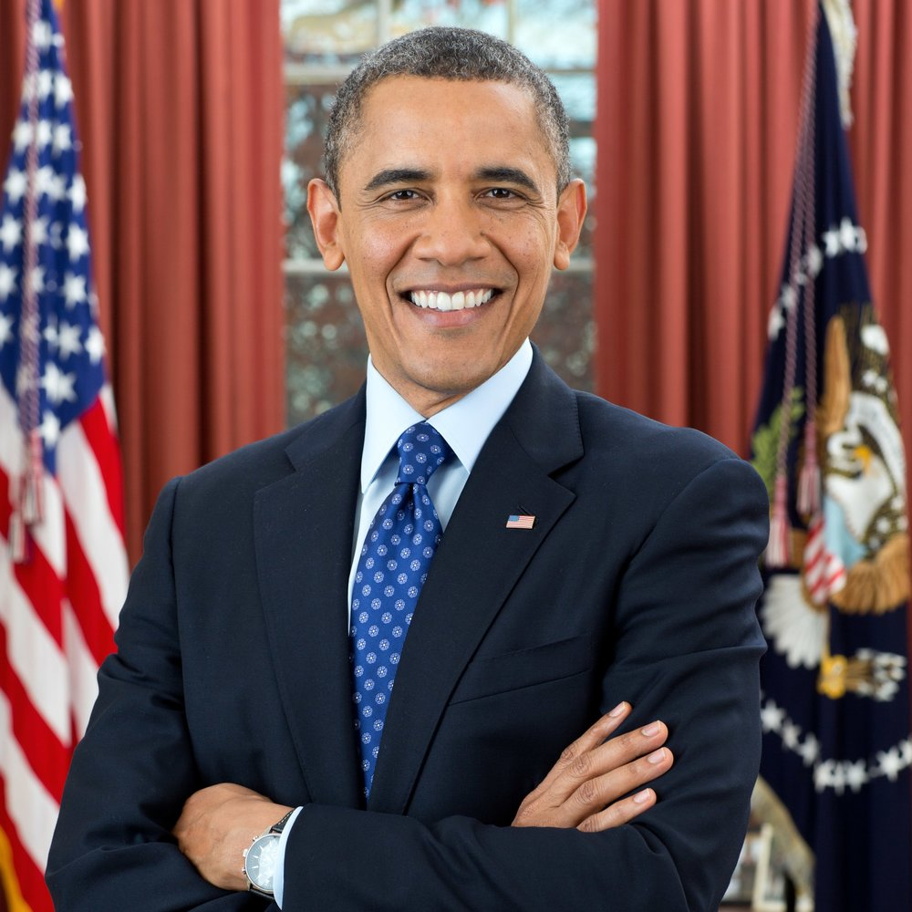 President Barack Obama - First African-American and 44th president of the United States of America