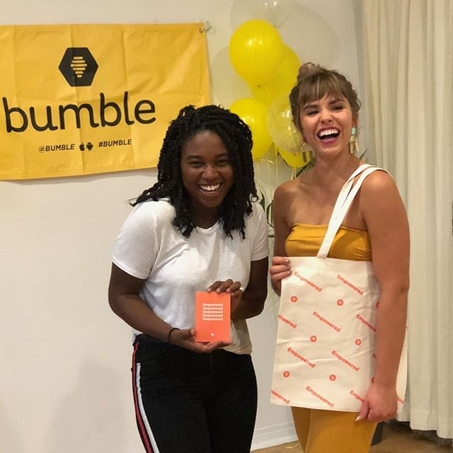 I'm helping bring @bumble_canada to #Winnipeg 🐝 Thanks @raejules for reaching out and making me Winnipeg's first Bumble City Rep! Proud to be a part of a company that empowers women to make the first move in friendships, business and dating💪🏾 • Download @bumble to find out what we have planned for Winnipeg (you won't wanna miss it) Stay tuned! #BumbleWinnipeg #BumbleBFF #BumbleBizz
