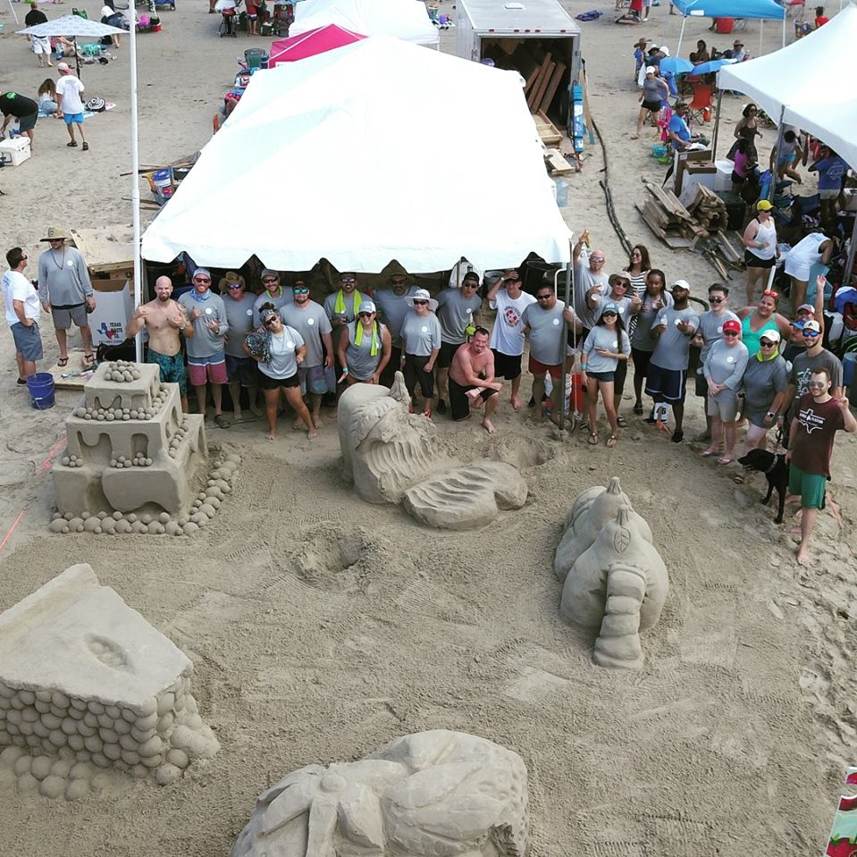 2018 AIA SAND CASTLE COMPETITION - Goree Architects competed in the KIDS BOOK theme this year. The day turned out great and made for a successful team bonding event.