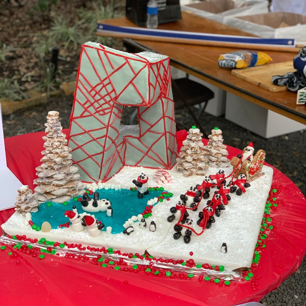 2018 AIA GINGERBREAD BUILD OFF - Goree Architects competed in the 10th annual AIA Gingerbread competition this year. It was a bit chilly but everyone had a blast!