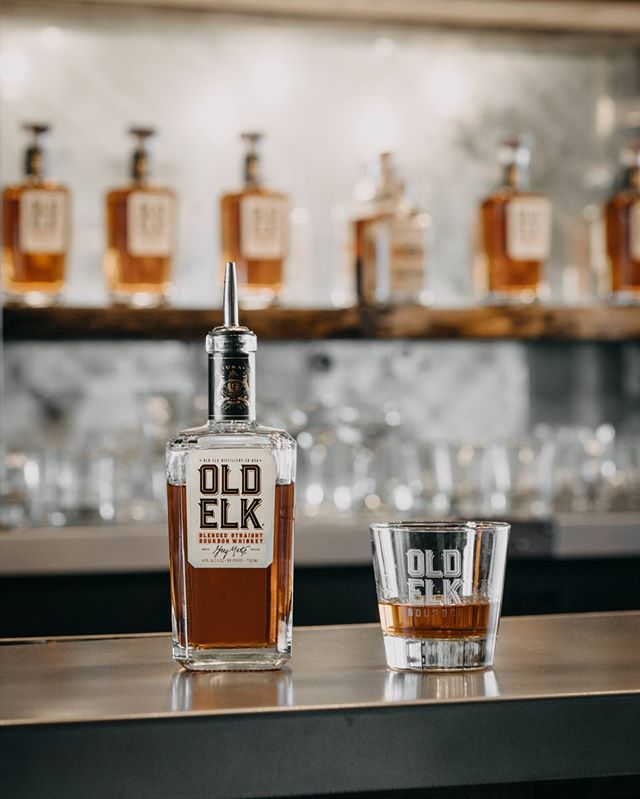 A smooth pour every time. #oldelkbourbon