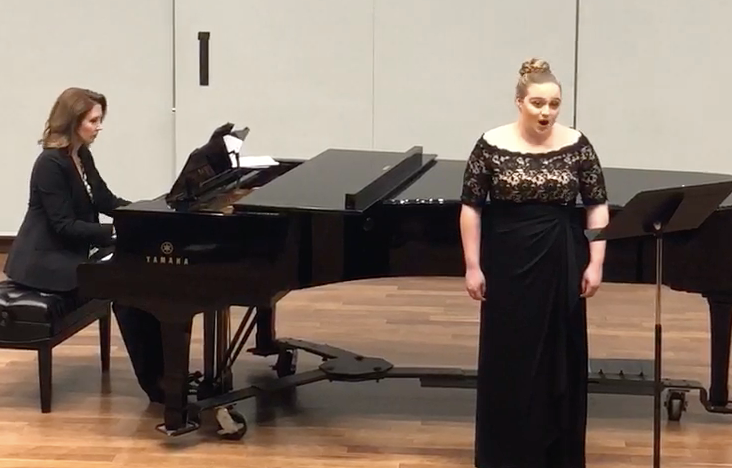 Collaborative Piano & Vocal Coaching - Kaarin is sought after for collaborative piano engagements and vocal coaching because of her attention to expressiveness, diction detail, and character development.