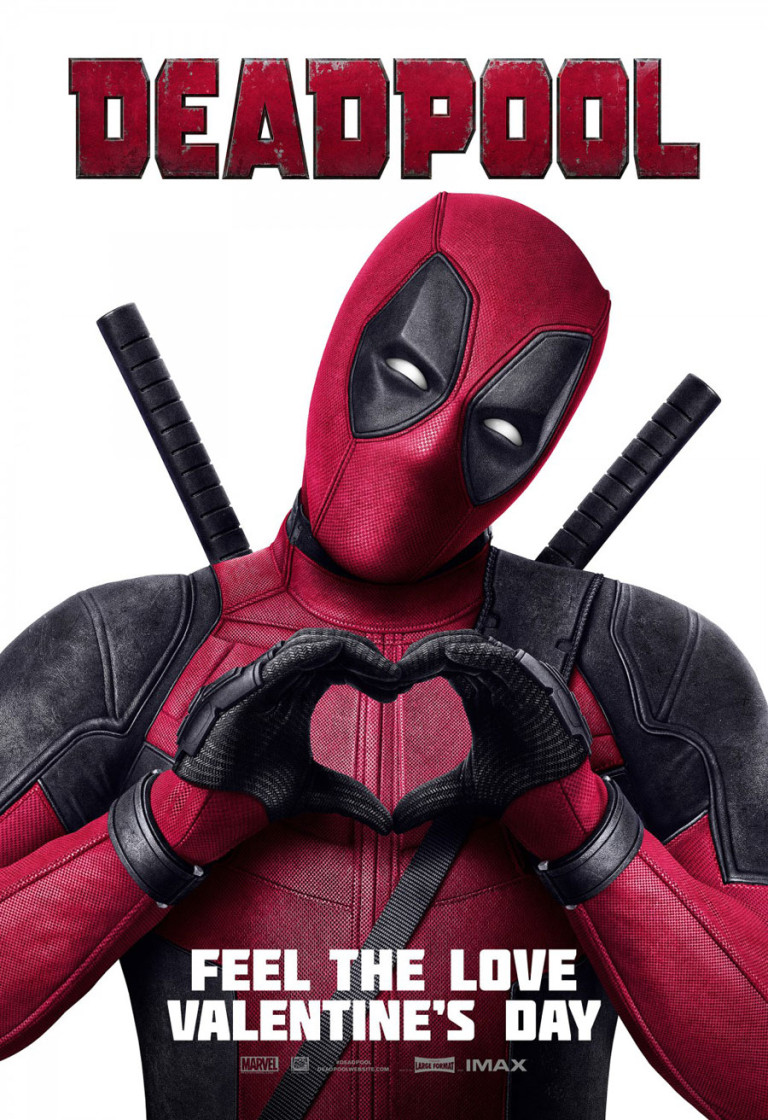 Deadpool (2016) - Directed by: Tim MillerStarring: Ryan Reynolds, Morena Baccarin, TJ Miller, Ed SkreinRated: R for Strong Violence and Language Throughout, Sexual Content and Graphic NudityRunning Time: 1 h 48 mTMM Score: 4 stars out of 5STRENGTHS: Meta-Writing, Pulls No Punches, Surprisingly SweetWEAKNESSES: Familiar Story, Rather Forgettable Villain