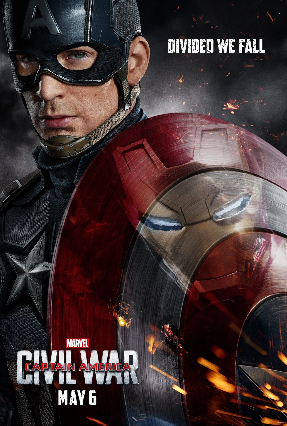Captain America: Civil War (2016) - DIRECTED BY: ANTHONY AND JOE RUSSOSTARRING: CHRIS EVANS, ROBERT DOWNEY JR., SCARLETT JOHANSSONRATED: PG-13 FOR EXTENDED SEQUENCES OF VIOLENCE, ACTION AND MAYHEMRUNNING TIME: 2 HOURS 27 MINTMM: 4 OUT OF 5 STARSSTRENGTHS: THEMES, ACTION, NEW CHARACTERS, BELIEVABILITYWEAKNESSES: WINTER SOLIDER, MOMENTARY LAPSES IN GRAPHICS, PULLS PUNCHES, LAME VILLAIN