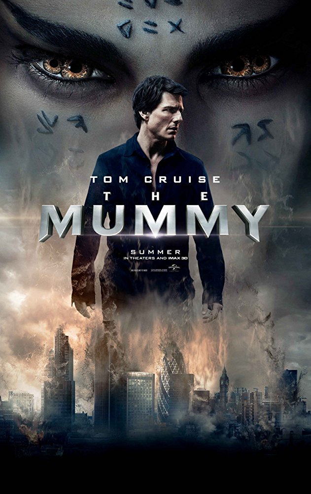 The Mummy (2017) - Directed by: Alex KurtzmanStarring: Tom Cruise, Sofia Boutella, Annabelle WallisRated: PG-13 for Violence, Action and Scary Images, and Some Suggestive Content and Partial NudityRunning Time: 1 H 50 MTMM: 2 out of 5 StarsStrengths: One of the Action SequencesWeaknesses: Everything Else