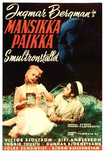 Wild Strawberries (1957) - Directed by: Ingmar BergmanStarring: Victor Sjostrom, Bibi Andersson, Ingrid ThulinRated: NR (Suggested: PG-13 for Thematic Material)Running Time: 1 h 31 mTMM Score: 5 stars out of 5STRENGTHS: Writing, Directing, Dream SequencesWEAKNESSES: -