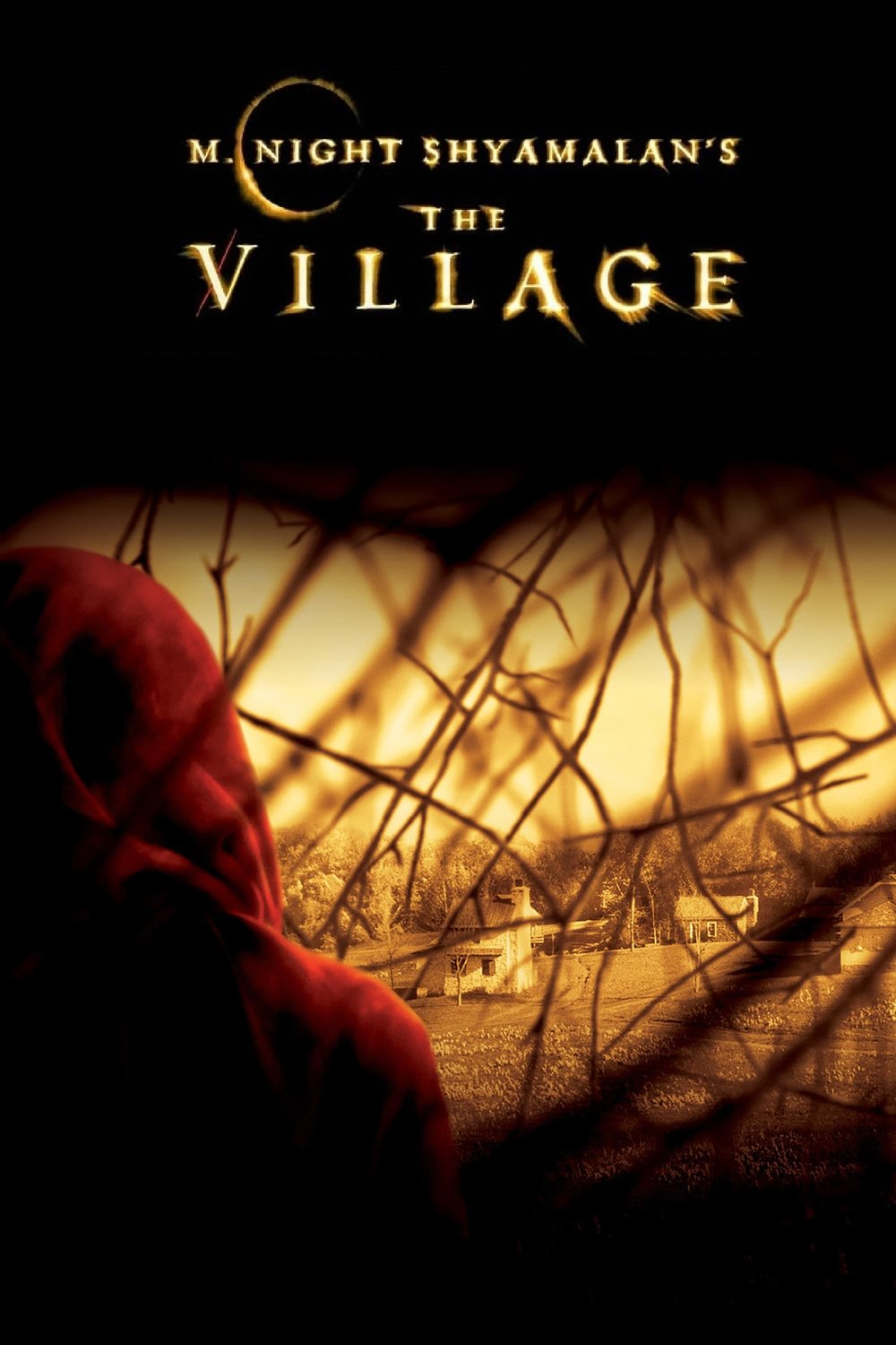 The Village (2004) - Directed by: M. Night ShyamalanStarring: Bryce Dallas Howard, Joaquin Pheonix, William Hurt, Adrien BrodyRated: PG-13 for a Scene of Violence and Frightening SituationsRunning Time: 1 h 48 mTMM Score: 2.5 stars out of 5STRENGTHS: Cinematography, Score, Some ActingWEAKNESSES: Some Acting, Directing, Writing, Pacing
