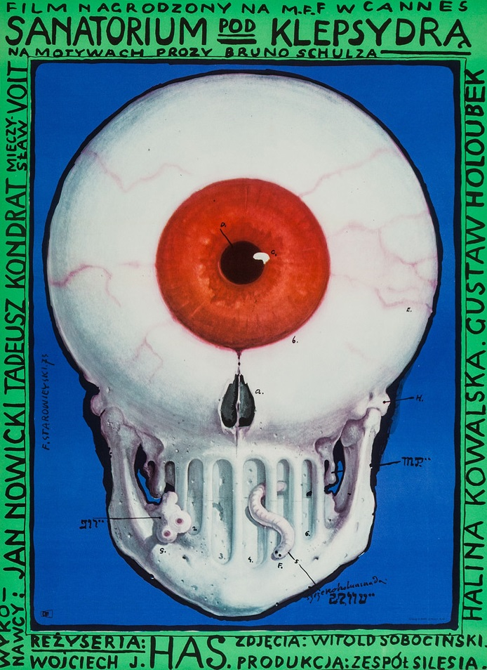 The Hourglass Sanatorium (1973) - Directed by: Wojciech HasStarring: Jan Nowicki, Tadeusz Kondrat, Irena Orska, Halina KowalskaRated: NR (Suggested R for Some Nudity and Sexual Situations, and Foreboding Images and Themes)Running Time: 2 h 4 mTMM Score: 5 stars out of 5STRENGTHS: Production Design, Writing, Directing, Acting, Editing, IngenuityWEAKNESSES: May Be Difficult to Follow First Time Through