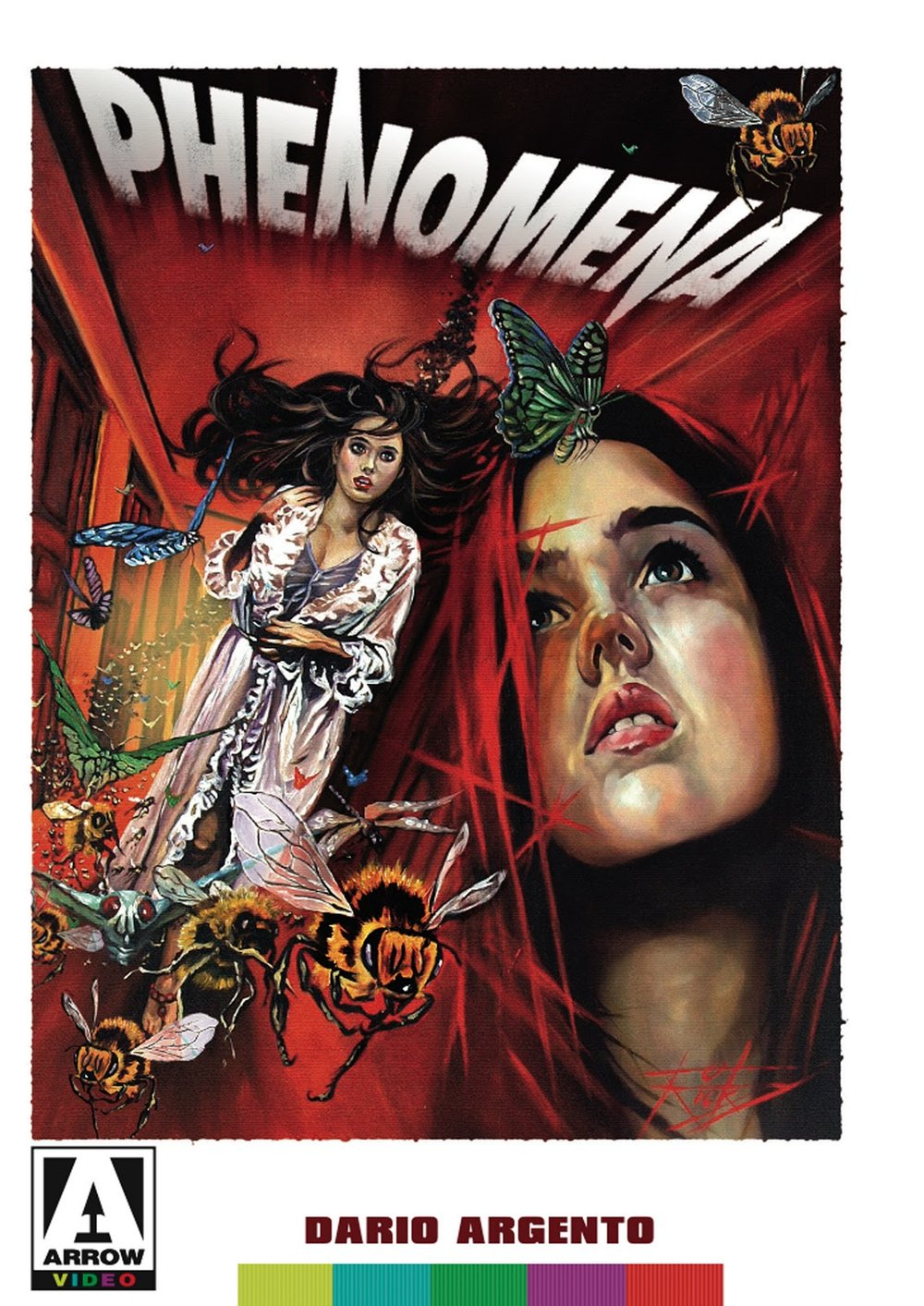 Phenomena (1985) - Directed by: Dario ArgentoStarring: Jennifer Connelly, Daria Nicoldi, Donald PleasanceRated: RRunning Time: 1 h 56 mTMM Score: 4 stars out of 5STRENGTHS: Direction, Style, Practical Effects, Weird Story, Some ActingWEAKNESSES: A Bit Farfetched at Points, Some Acting, Some Writing