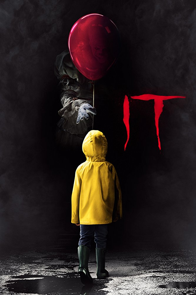 It (2017) - Directed by: Andy MuschiettiStarring: Bill Skarsgard, Jaeden Lieberher, Jeremy Ray Taylor, Sophia Lillis, Fin Wolfhard, Chosen Jacobs, Jack Dylan GrazerRated: R for Violence/Horror, Bloody Images, and for LanguageRunning Time: 2 h 15 mTMM Score: 4 stars out of 5STRENGTHS: Production Design, Characters, Story, AestheticWEAKNESSES: It's Not That Scary