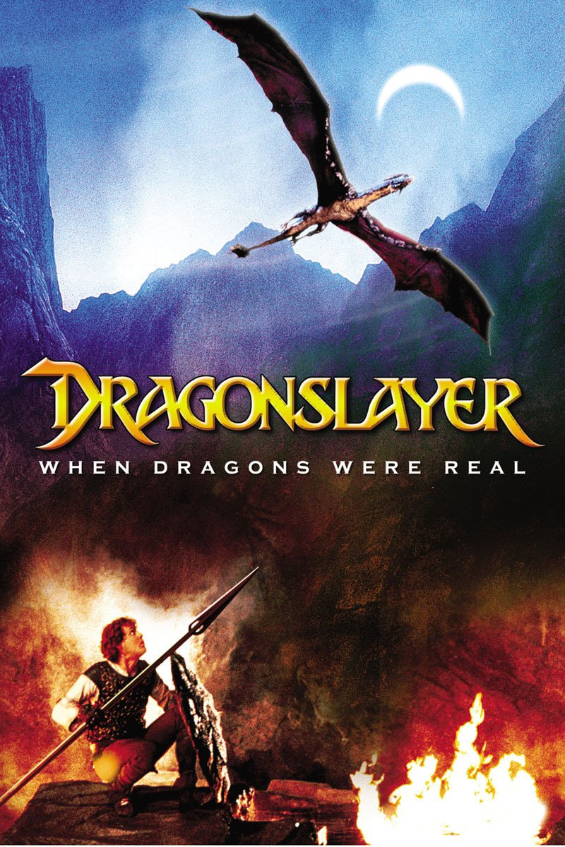 Dragonslayer (1981) - Directed by: Matthew RobbinsStarring: Peter MacNicol, Caitlin Clarke, John HallamRated: PGRunning Time: 1 h 49 mTMM Score: 3.5 stars out of 5STRENGTHS: Story, Production Design, ToneWEAKNESSES: Annoying Protagonist, Predictability (?)