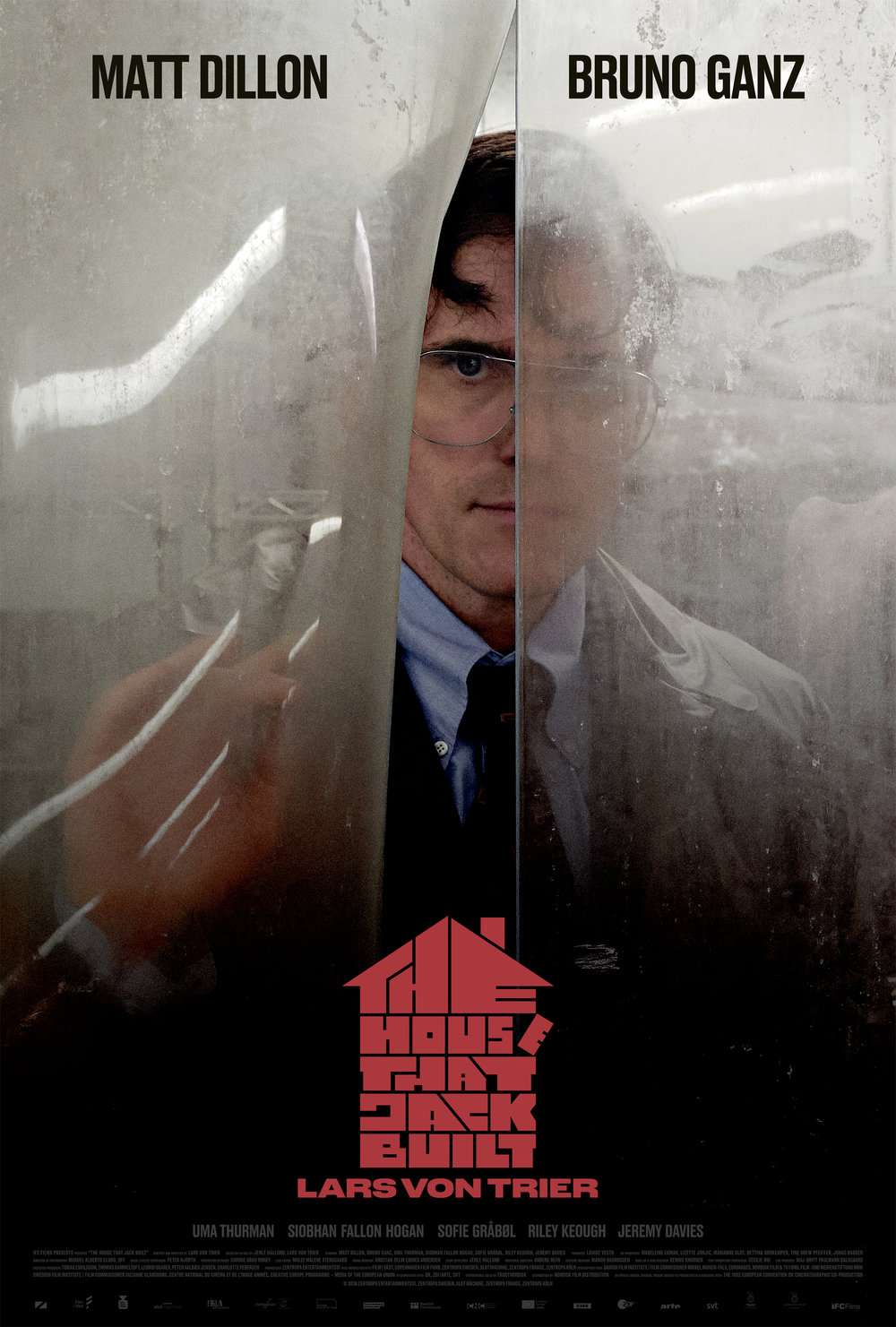 The House that Jack Built (2018) - Directed by: Lars von TrierStarring: Matt Dillon, Bruno Ganz, Uma Thurman, Riley KeoughRated: RRunning Time: 2 h 32 mTMM Score: 2 stars out of 5STRENGTHS: Matt Dillon, Some WritingWEAKNESSES: Direction, A Majority of the Writing