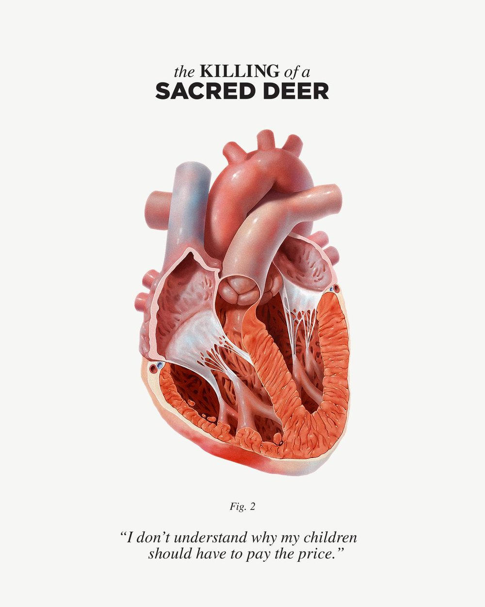 The Killing of a Sacred Deer (2017) - Directed by: Yorgos LanthimosStarring: Colin Farrell, Barry Keoghan, Nicole Kidman, Sunny SuljicRated: RRunning Time: 2h 1mTMM Score: 5 StarsSTRENGTHS: Acting, Concept, ThemesWEAKNESSES: Story, Slow