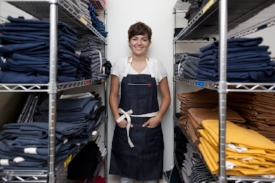 17. Founder Bennett wearing one of her earliest aprons loud and proud copy 2_html.jpg