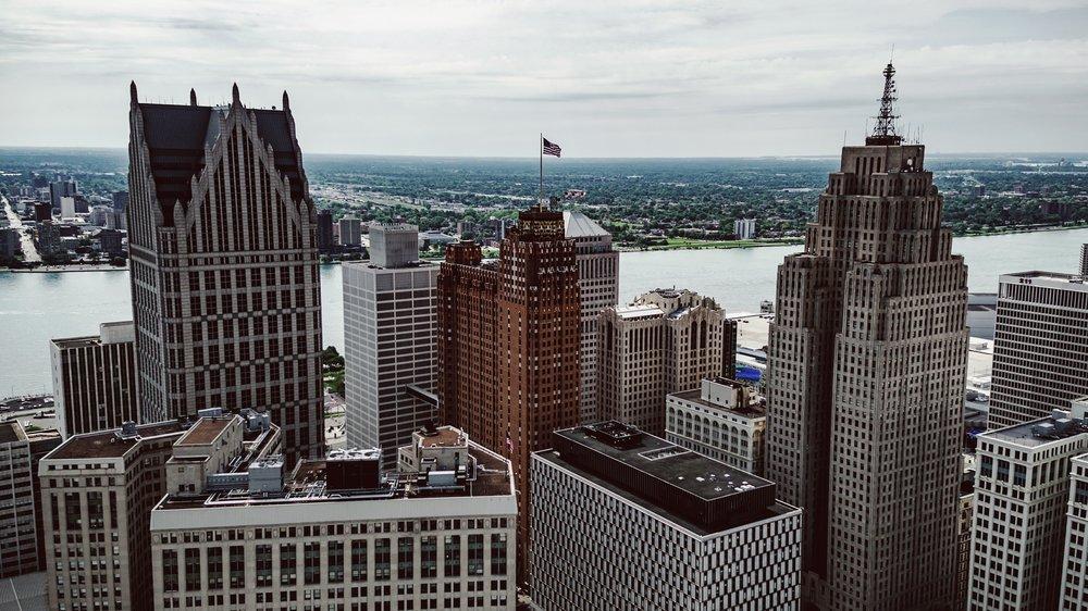 I flew to Detroit to discuss books with Mitch Albom.