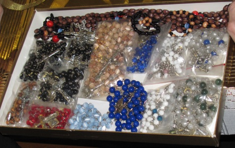 Rosaries for the rosary pouches