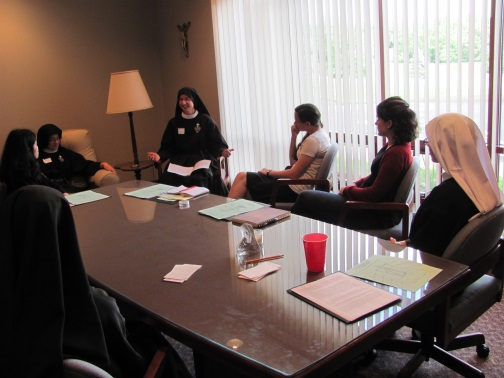 Sr. Cecilia Maria shares about Spiritual Motherhood