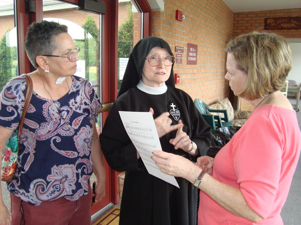 Sharing life with the Passionist Nuns of St. Joseph Monastery