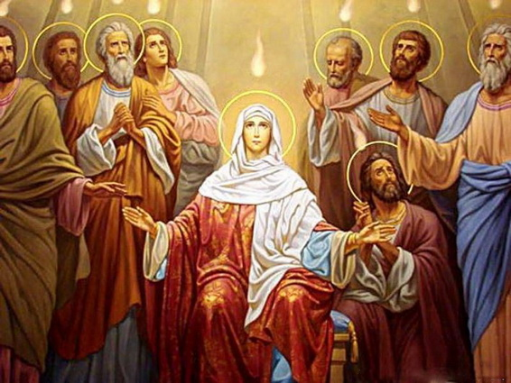 Great Novena of Pentecost - Day 6 — Passionist Nuns