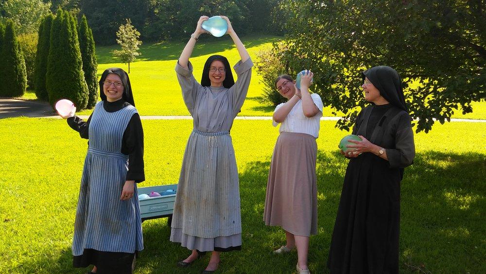 Nuns at the ready!