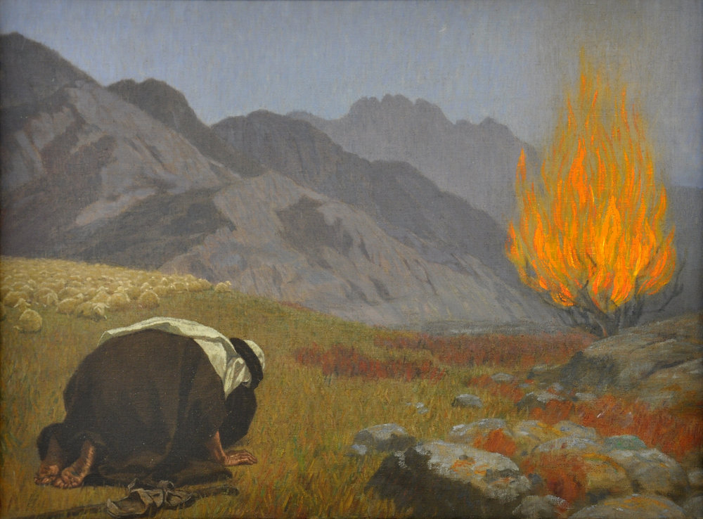 """For our God is a consuming fire."" - Hebrews 12:29(NAB)  Gebhard Fugel [Public domain], from Wikimedia Commons"