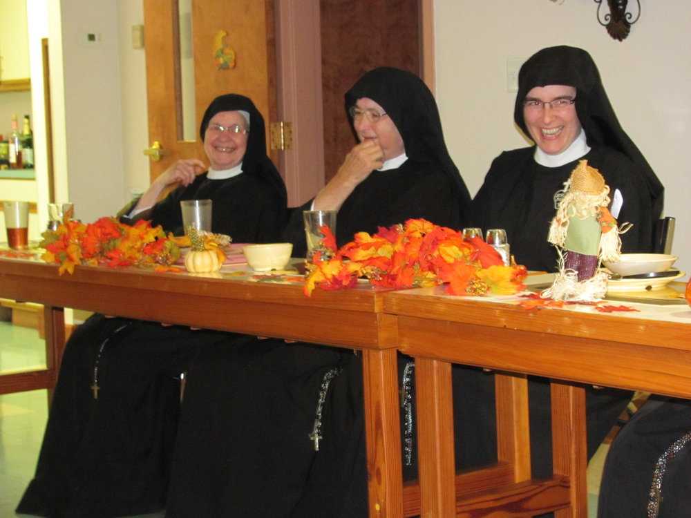 Sister Mary Agnes of Microsoft Vigils, Sister Mary Therese of the Watering Cans, & Mother John Mary of the Pocket Notepad