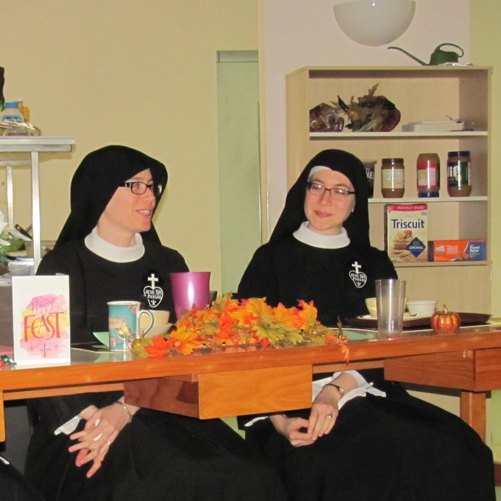 Sister Maria Faustina of the Perpetual Paint-by-Number & Sister Lucia Marie of the Encyclopedia of All Data