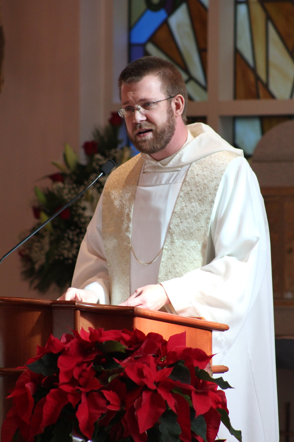 Fr. Vincent Ferrer Bagan, OP, delivers the homily -  click here to read it!