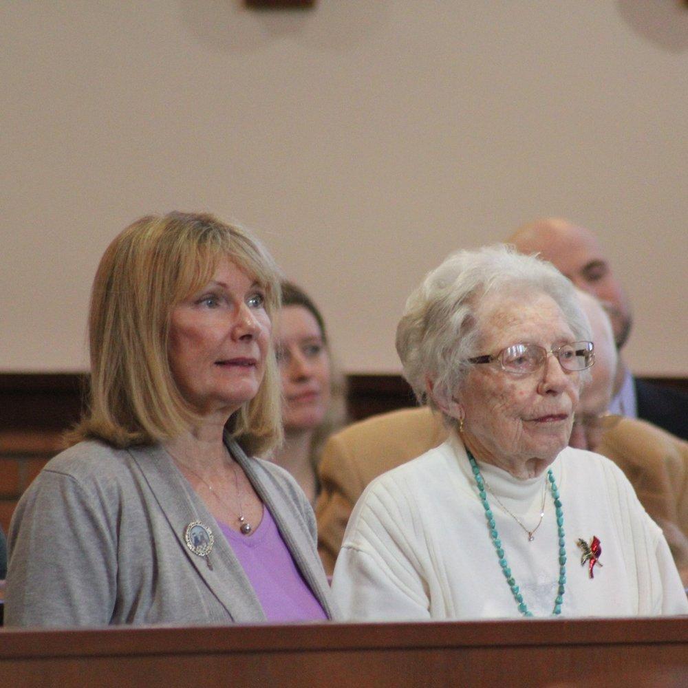 Sr. Cecilia Maria's Aunt Alice and Grandma Nita