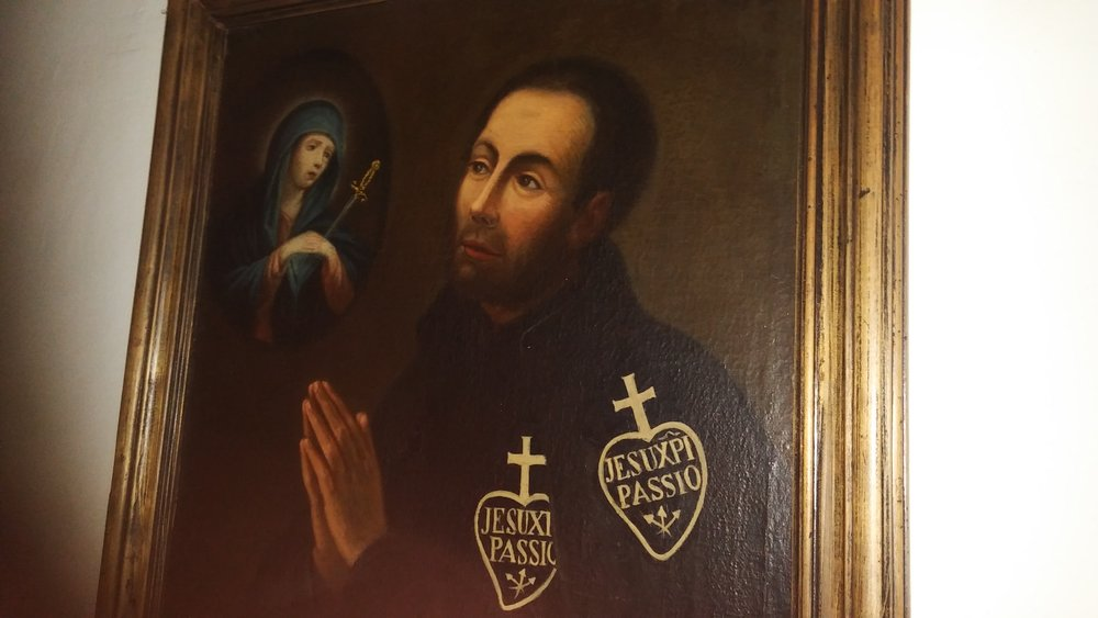 Fr. Francis Anthony of the Most Holy Crucified (Appiani) - he was among the first Passionists and dearly loved by St. Paul of the Cross.