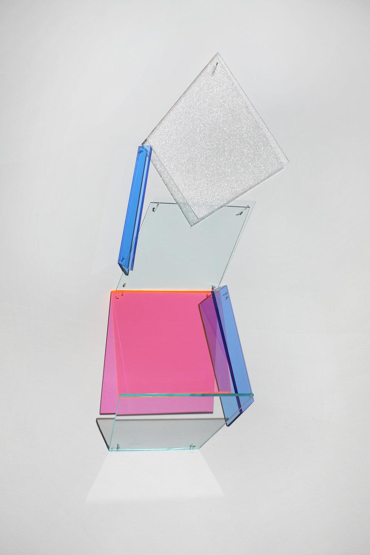 Tangent   2012 Plexiglas 30.5Hx11Wx4D inches / 77x28x33 cm